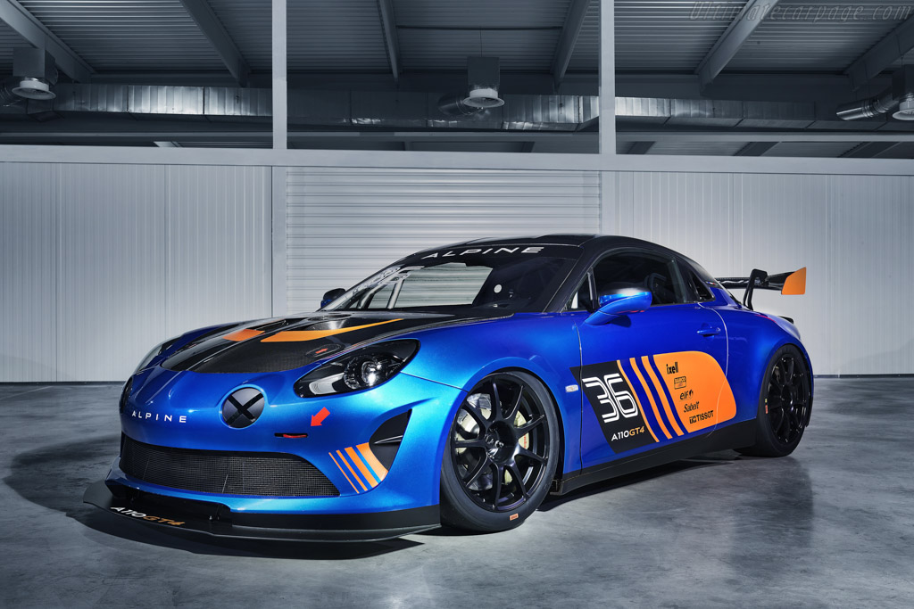 2018 Alpine A110 Gt4 Images Specifications And Information