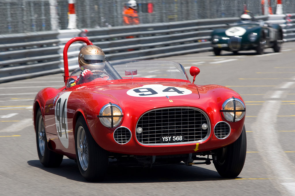 Ferrari 225 S Vignale Spyder - Chassis: 0154ED   - 2008 Monaco Historic Grand Prix