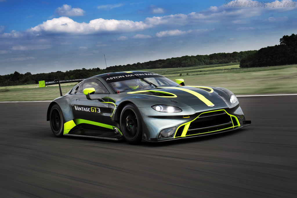 2019 Aston Martin Vantage GT3 Specifications - Ultimatecarpage.com