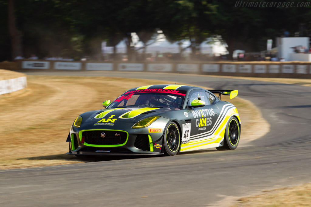 Jaguar F-Type SVR GT4    - 2018 Goodwood Festival of Speed