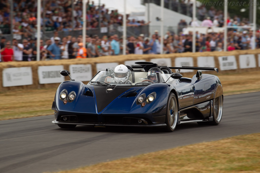 2017 Pagani Zonda Hp Barchetta Images Specifications And Information