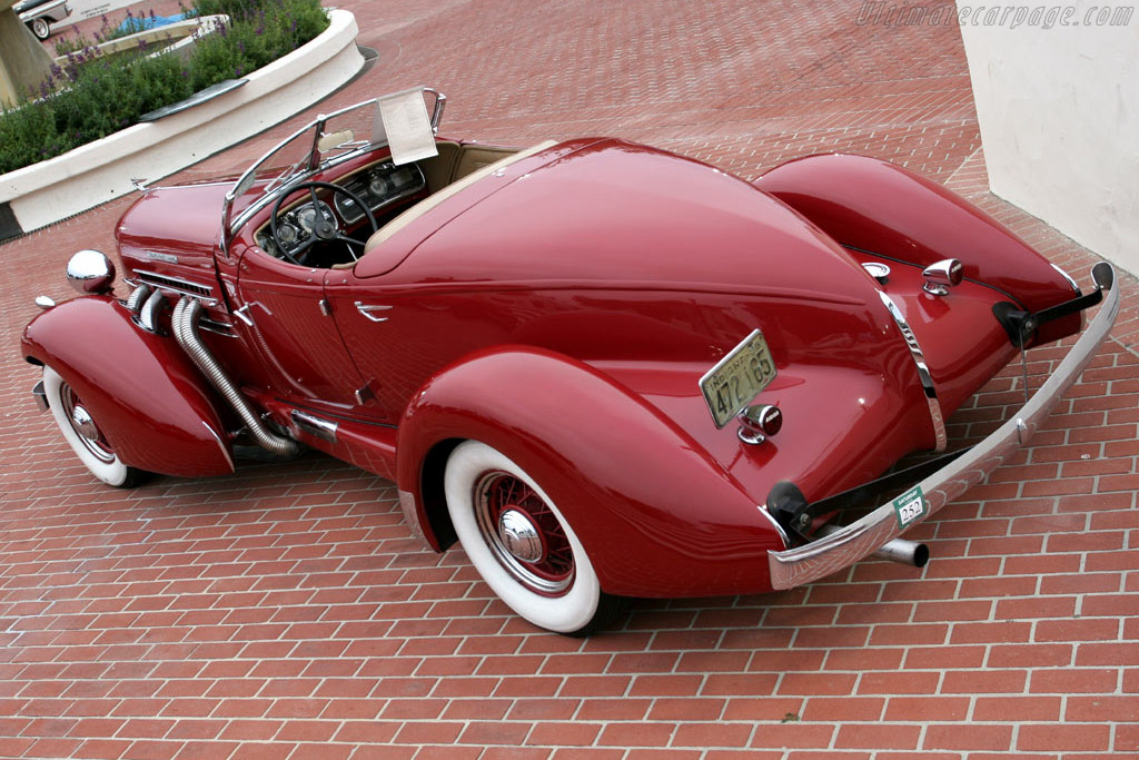 Auburn 851 SC Speedster - Chassis: 2025   - 2005 Monterey Peninsula Auctions and Sales