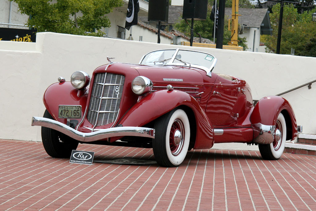 1935 Auburn 851 Sc Speedster Images Specifications And