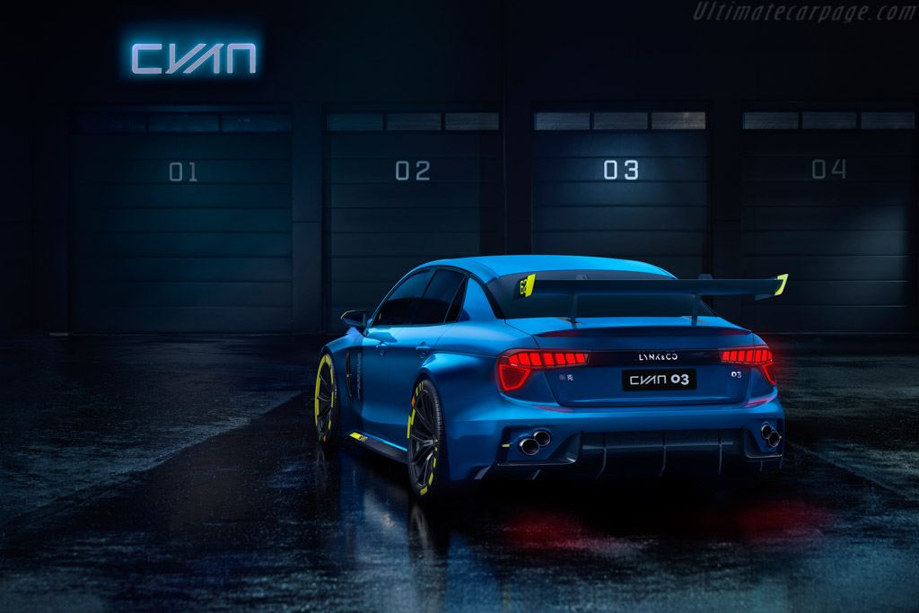 Lynk & Co 03 Cyan TCR Concept