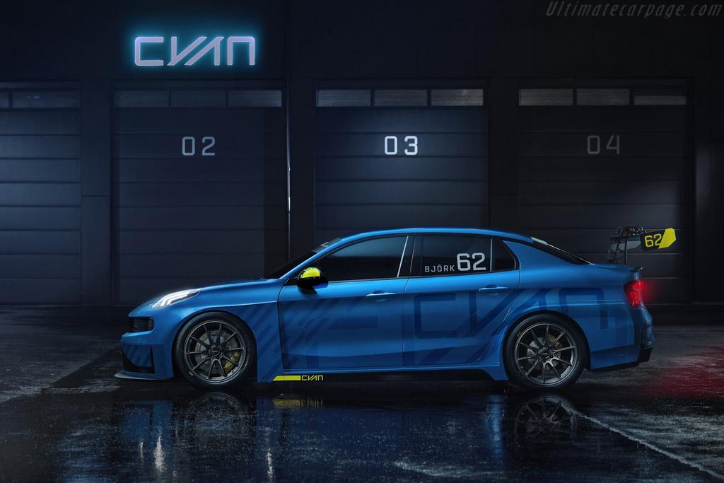 Lynk & Co 03 Cyan TCR Concept