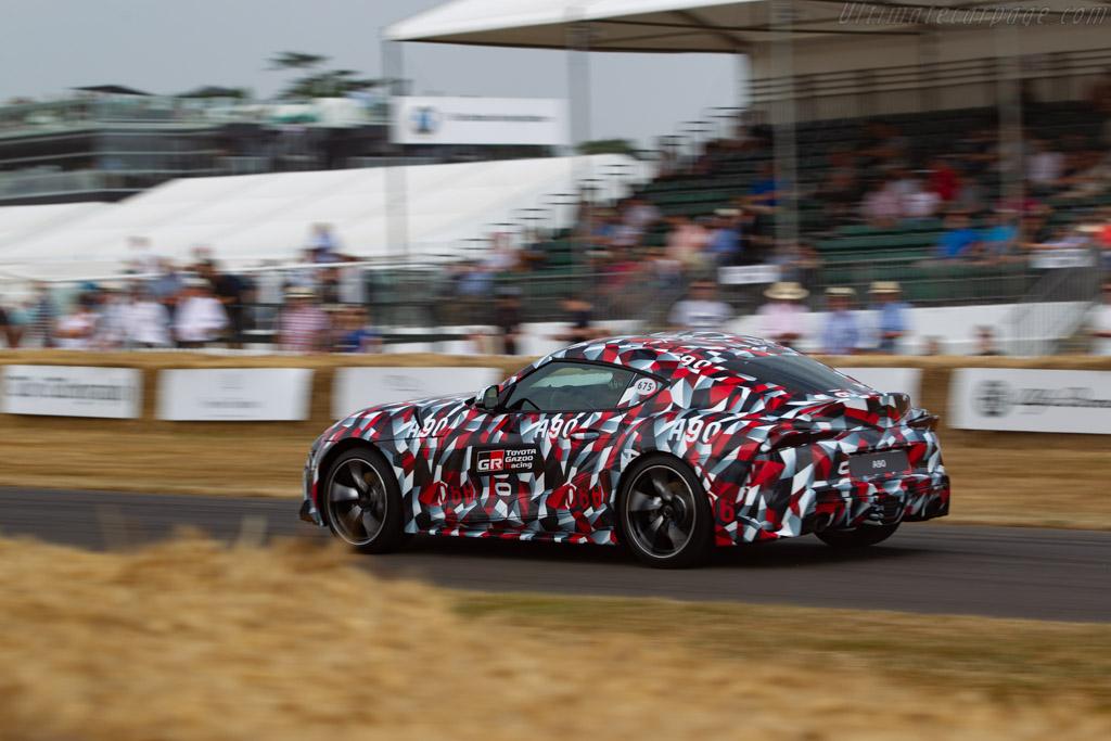 Toyota Supra    - 2018 Goodwood Festival of Speed