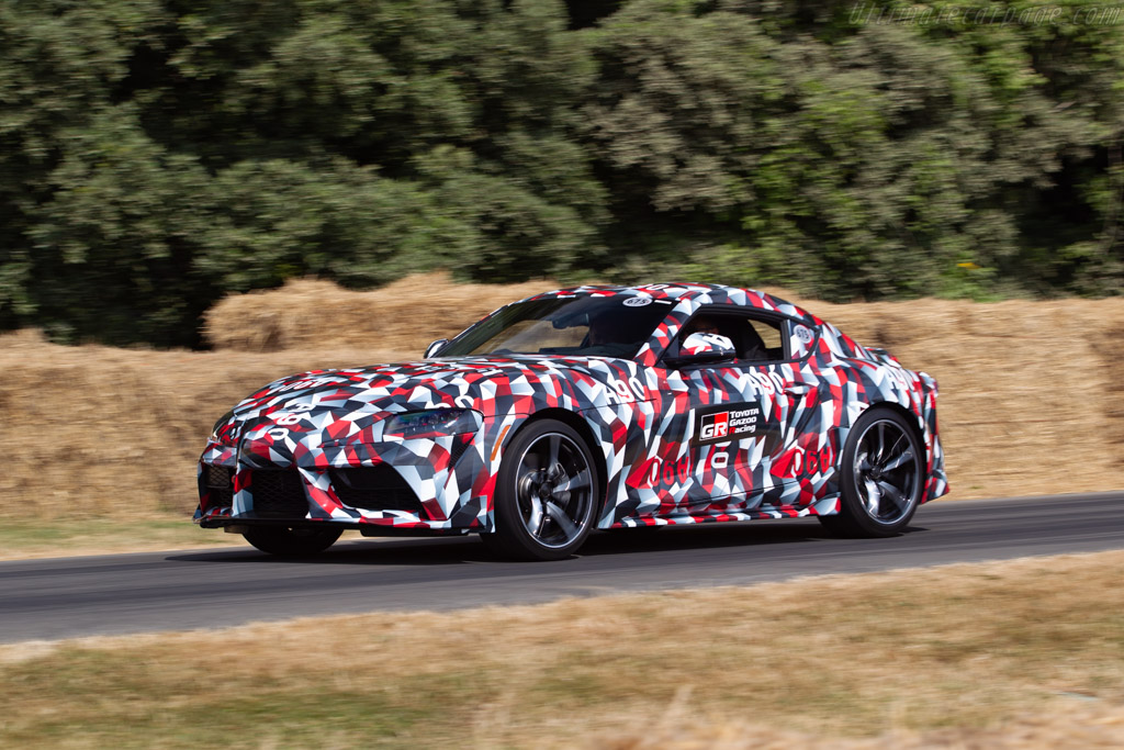 Toyota Supra    - 2018 Goodwood Festival of Speed