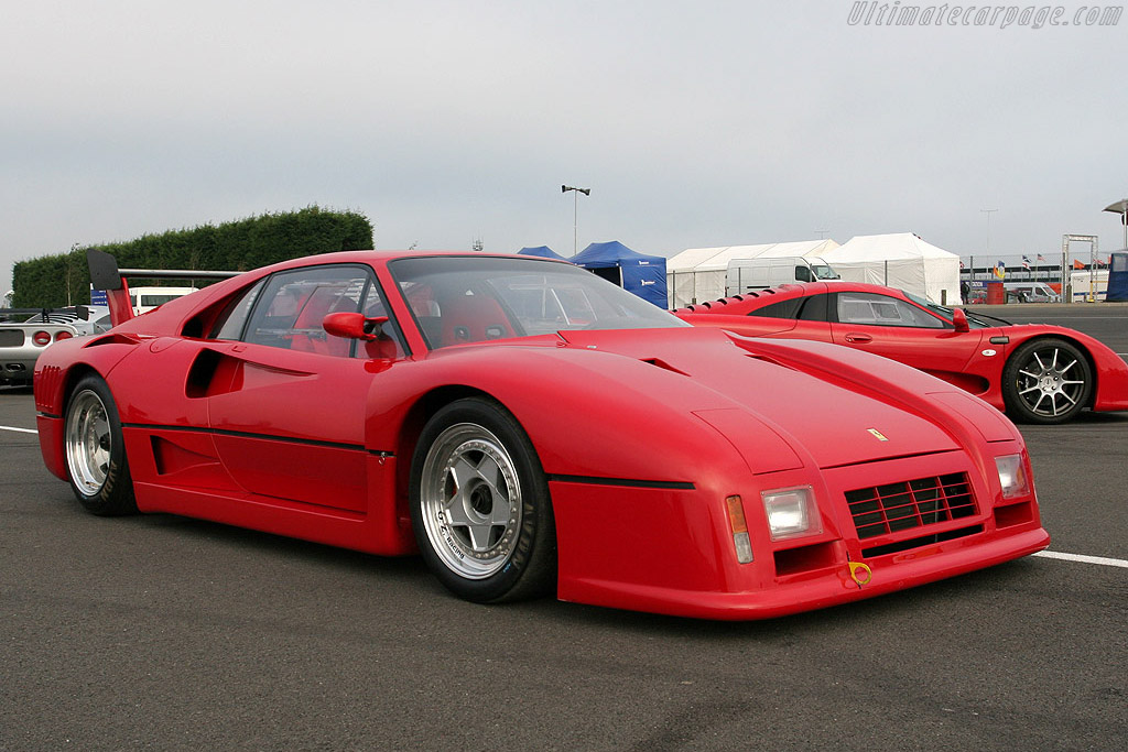Ferrari 288 GTO Evoluzione - Chassis: 79888  - 2007 Le Mans Series Silverstone 1000 km