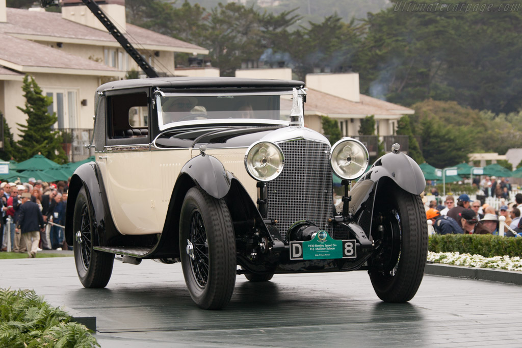 Bentley Speed Six Mulliner Sportsman's Saloon - Chassis: LR2778   - 2012 Pebble Beach Concours d'Elegance