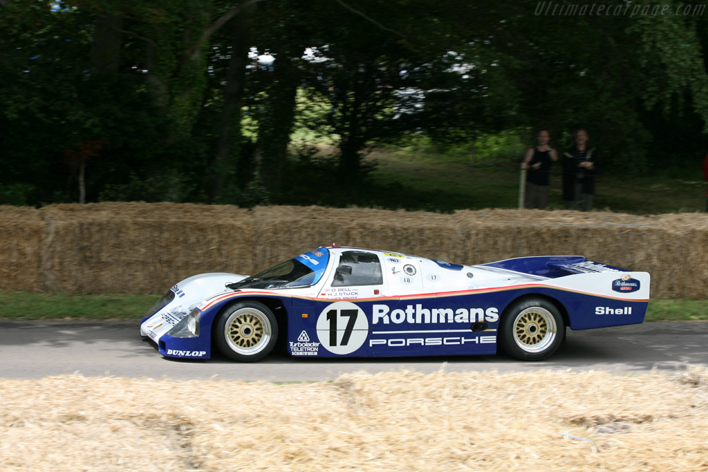 Porsche 962C - Chassis: 962-006   - 2007 Goodwood Festival of Speed