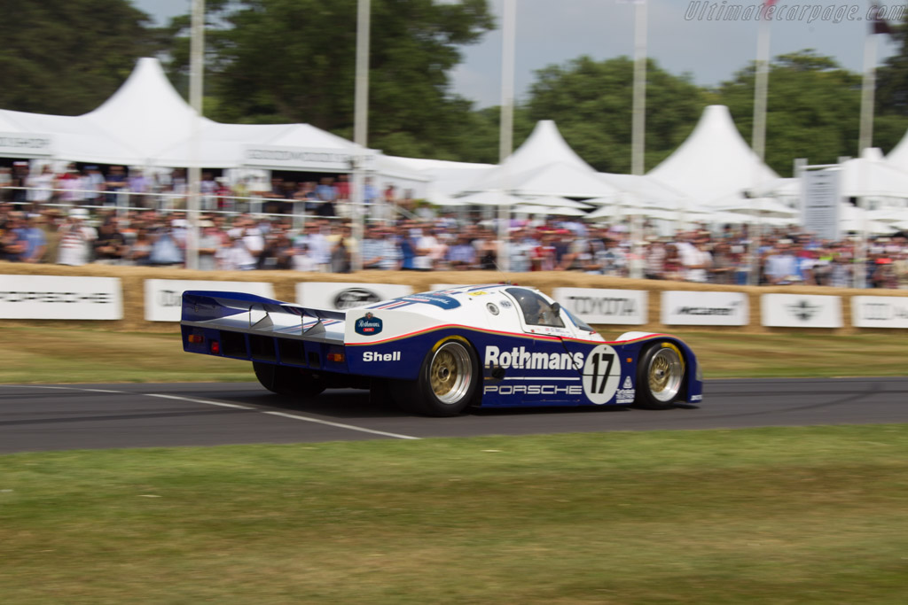 Porsche 962C - Chassis: 962-006   - 2013 Goodwood Festival of Speed