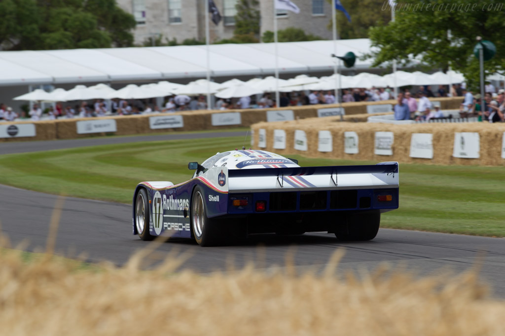 Porsche 962C - Chassis: 962-006   - 2015 Goodwood Festival of Speed