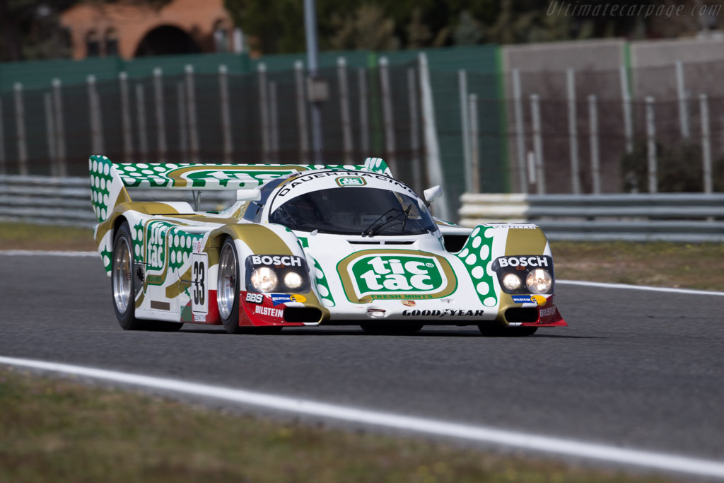 Porsche 962C - Chassis: 962-141   - 2016 Jarama Classic