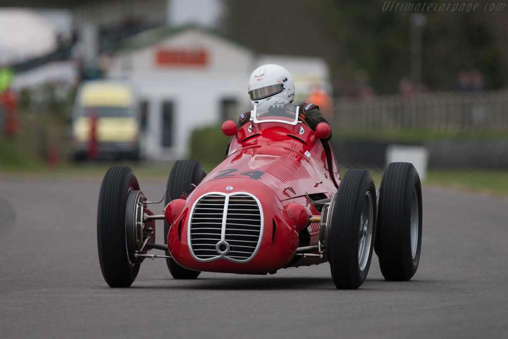 Maserati 4CLT - Chassis: 1600   - 2012 Goodwood Revival