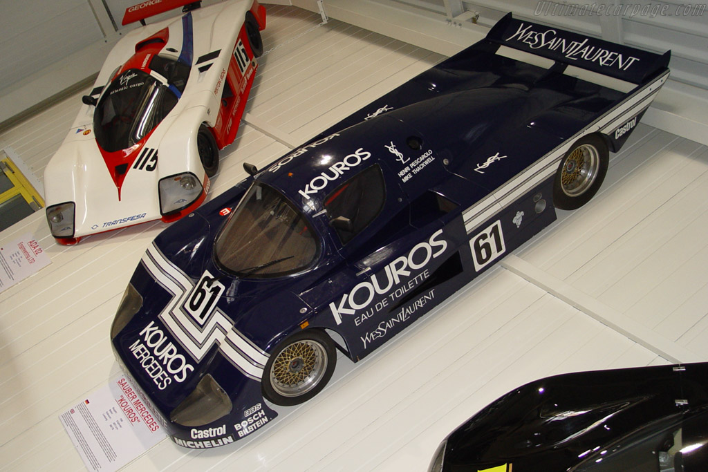 Click here to open the Sauber Mercedes C8 gallery