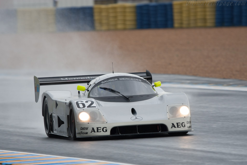 Sauber Mercedes C9 - Chassis: 88.C9.05   - 2012 24 Hours of Le Mans