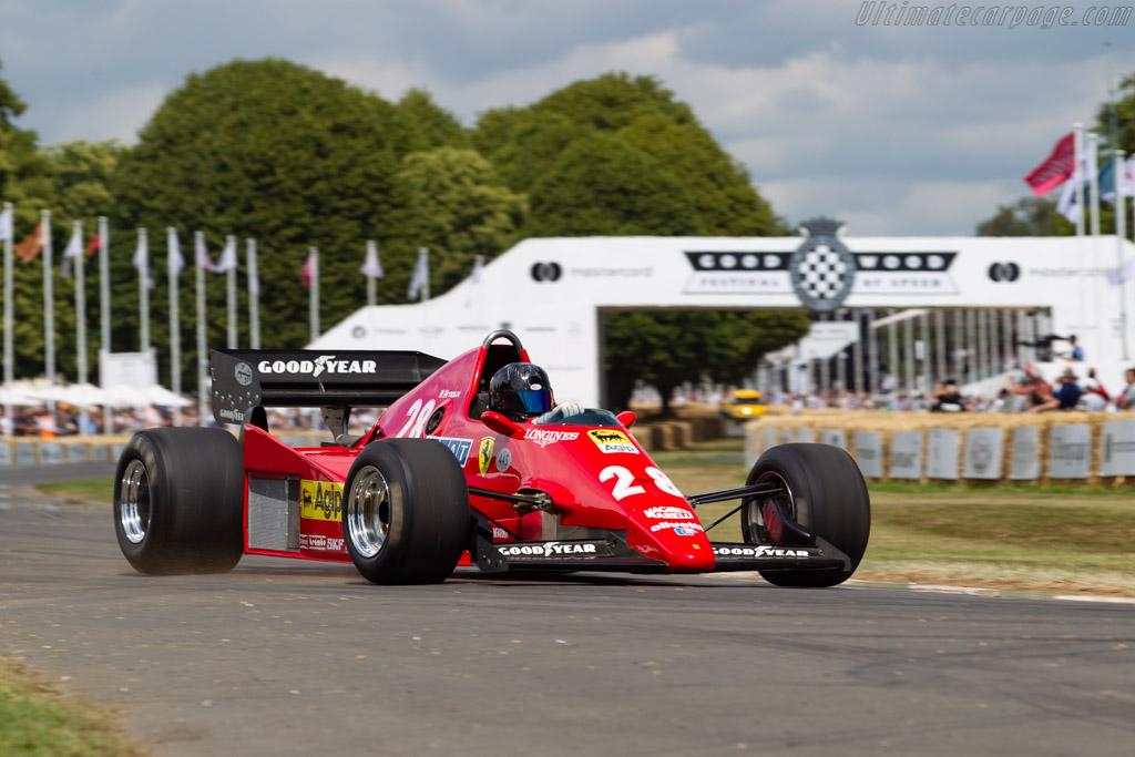 Ferrari 126 C2B - Chassis: 064   - 2019 Goodwood Festival of Speed