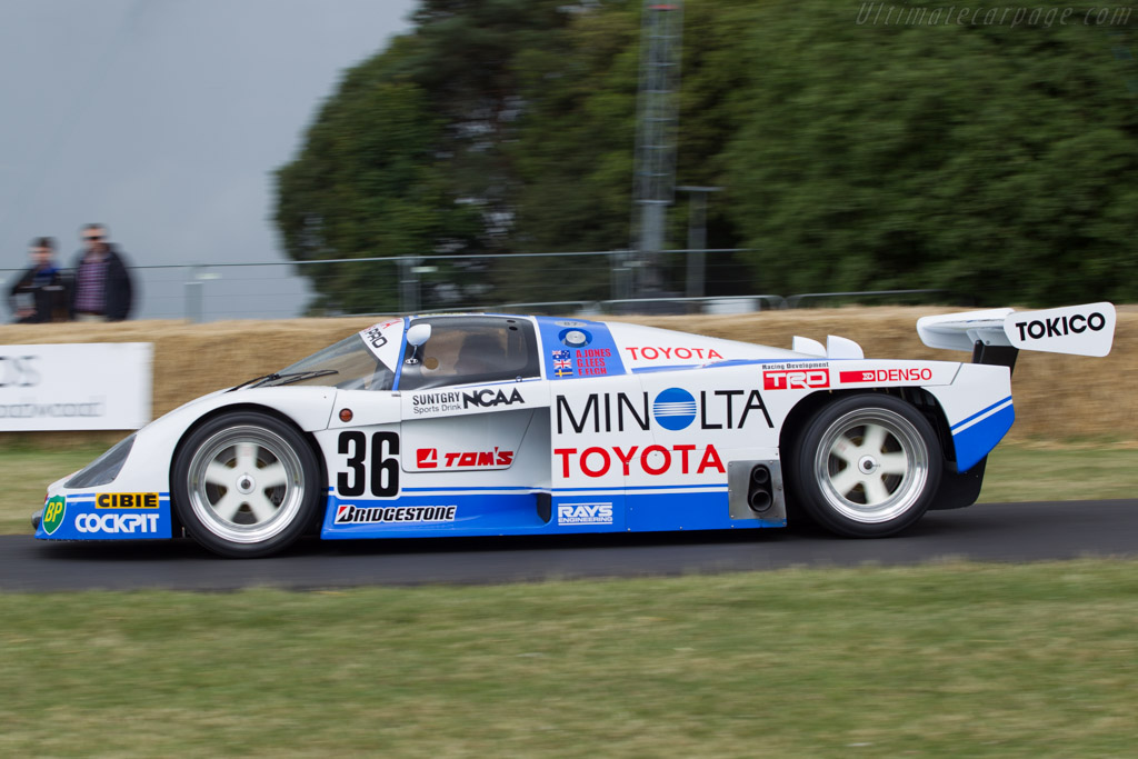 Toyota 87C - Chassis: 003   - 2014 Goodwood Festival of Speed