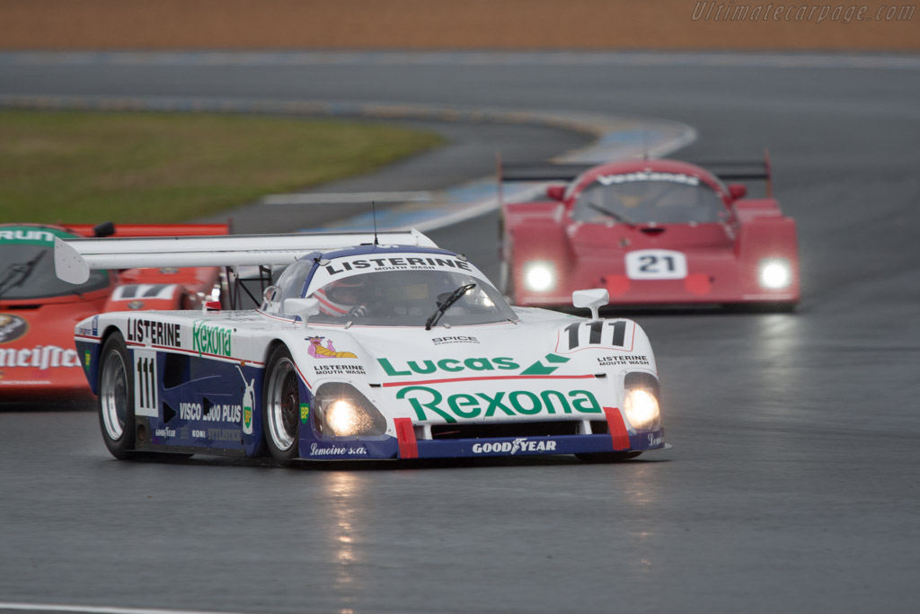 Spice SE88C Cosworth - Chassis: SE88C-003   - 2012 24 Hours of Le Mans