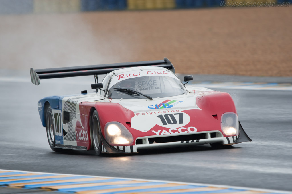 Spice SE88C Cosworth - Chassis: SE88C-002   - 2012 24 Hours of Le Mans