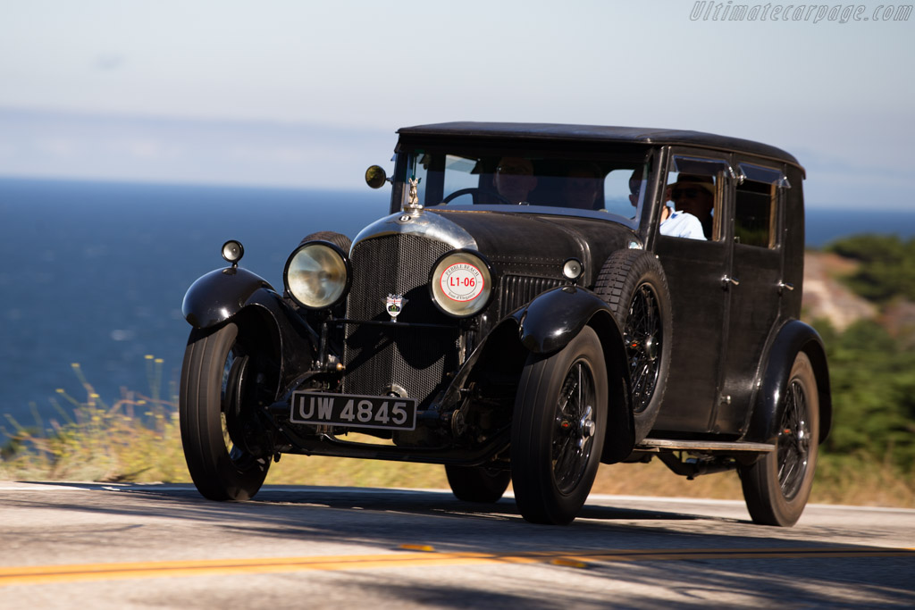 Bentley 4½ Litre Maythorn Saloon - Chassis: XF3520  - 2015 Pebble Beach Concours d'Elegance