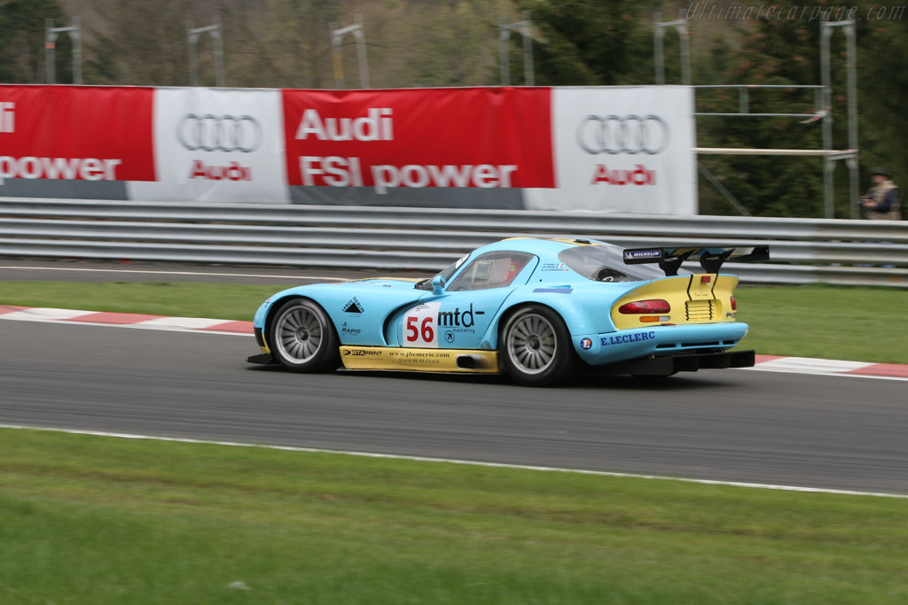 Dodge Viper GTS-R - Chassis: C9   - 2005 Le Mans Endurance Series Spa 1000 km