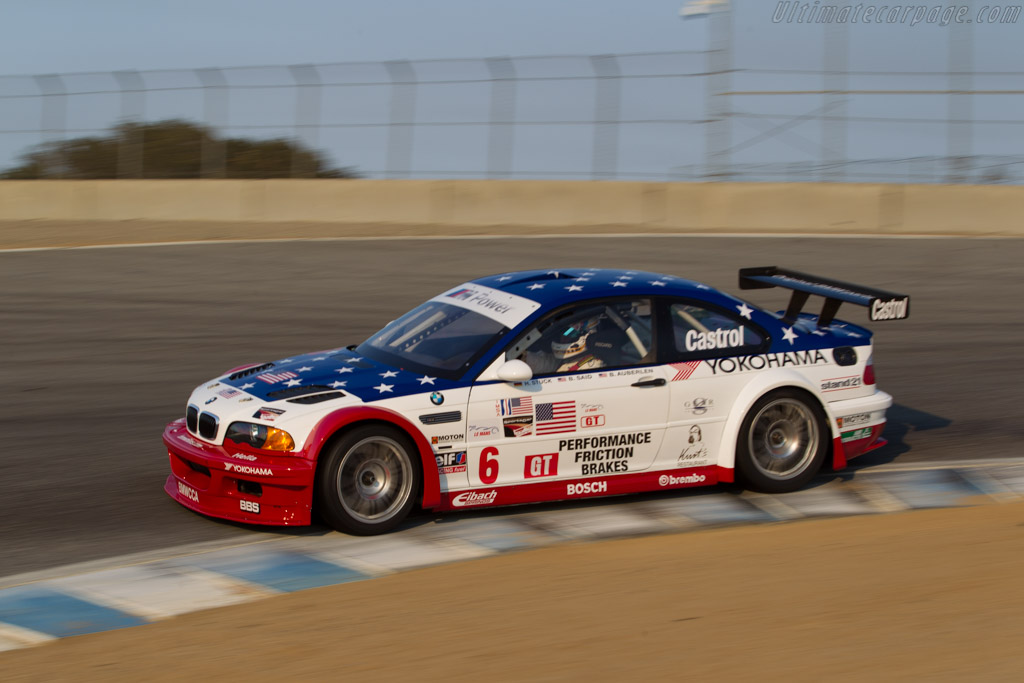 BMW M3 GTR - Chassis: M3-GTR-006   - 2016 Monterey Motorsports Reunion