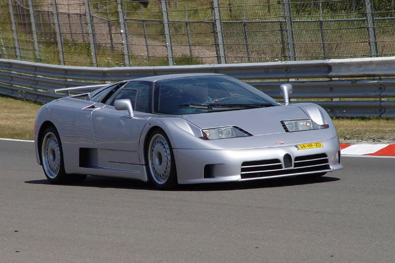 Click here to open the Bugatti EB 110 GT gallery