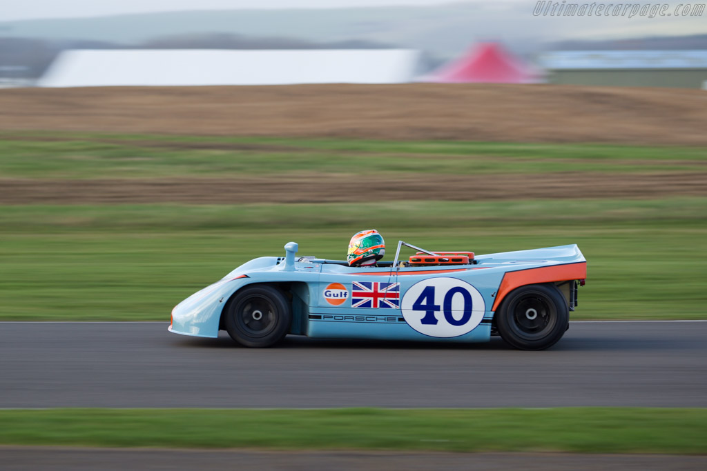 Porsche 908/03 - Chassis: 908/03-009 - Driver: Charlie Eastwood  - 2017 Goodwood Members' Meeting