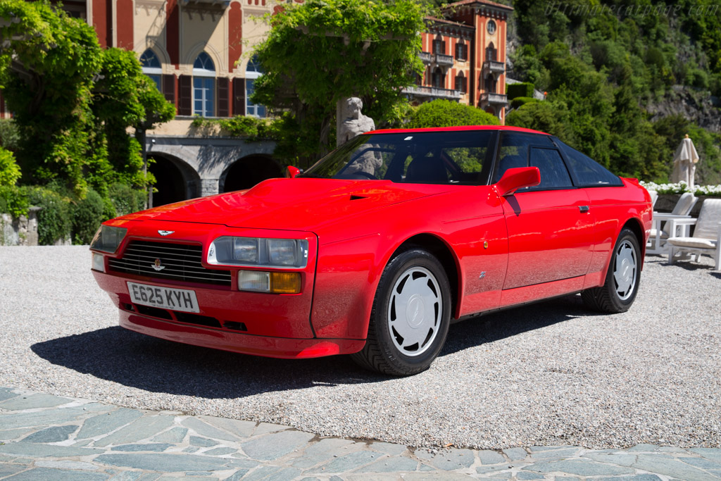 1986 1988 Aston Martin V8 Vantage Zagato Images Specifications And Information