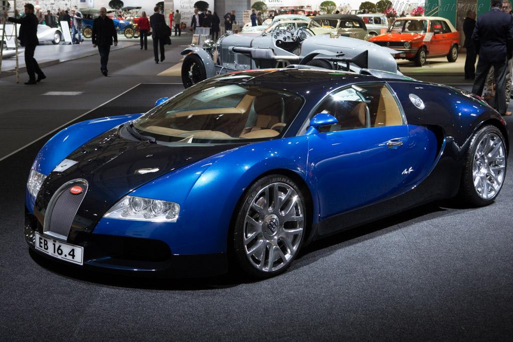 Bugatti EB 16/4 Veyron Concept    - 2014 Techno Classica