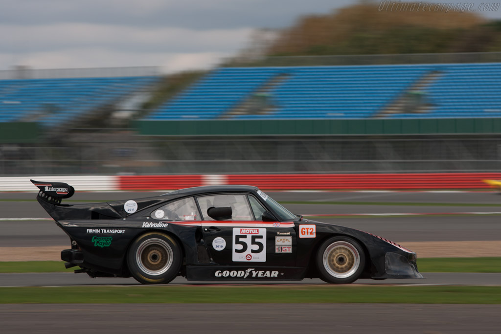 Porsche 935 K3 - Chassis: 000 0027   - 2011 Le Mans Series 6 Hours of Silverstone (ILMC)
