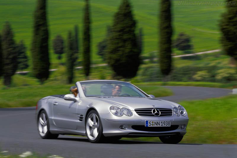2002 2006 mercedes benz sl 500 images specifications for Mercedes benz press release