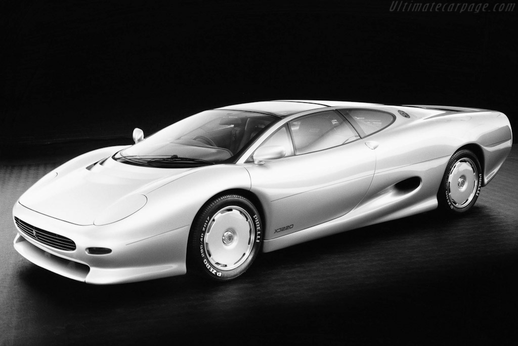 Click here to open the Jaguar XJ220 Prototype gallery