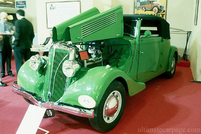 Click here to open the Berliet 11 CV Type Dauphine Convertible gallery