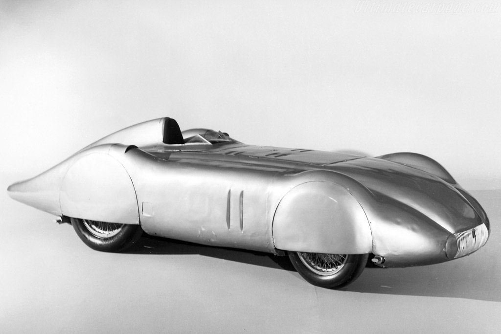 Mercedes-Benz W25 Avus Streamliner