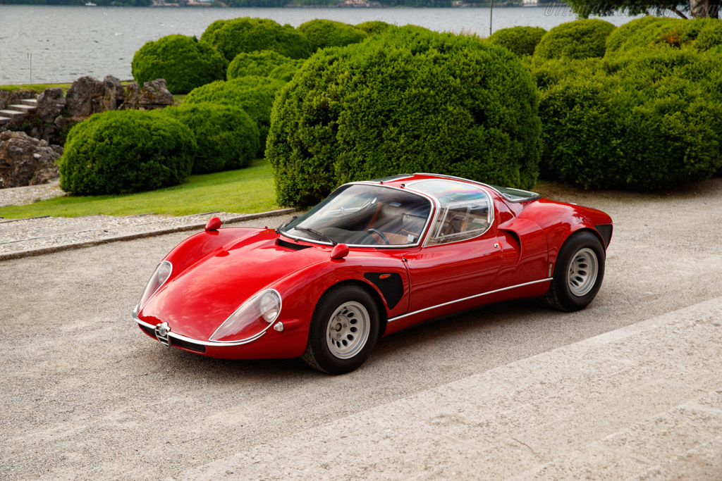 1968 Alfa Romeo 33 Stradale Chassis 75033 110 Ultimatecarpage Com