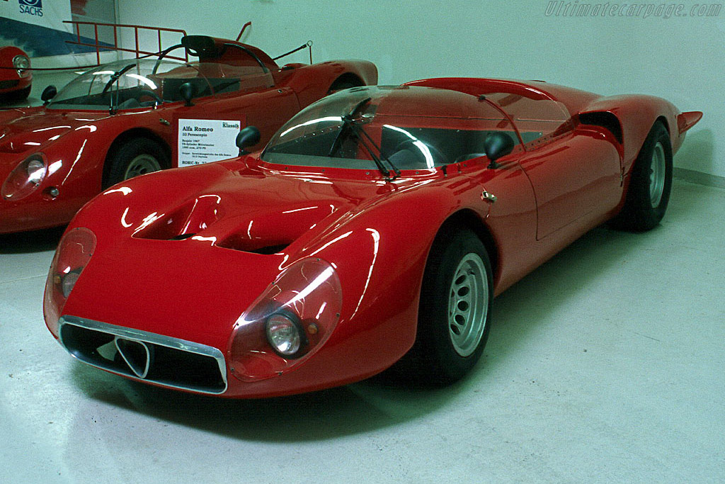 Click here to open the Alfa Romeo 33/2 'Mugello' Spider gallery