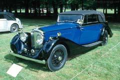 Bentley 4¼ Litre Sedanca Coupe