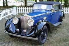 Bentley 4¼ Litre Sedanca Coupe B-28-KT