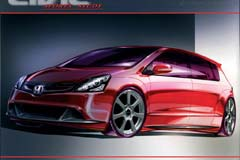 Honda Civic Five Door Concept