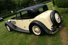 Bentley 3½ Litre Freestone & Webb Sports Saloon
