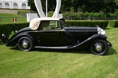 Bentley 3½ Litre Barker Fixed Faux Cabriolet