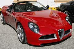 Alfa Romeo 8C Spider Concept