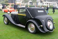 Bugatti Type 50 Brainsby-Woollard Cabriolet 50144
