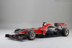Virgin MVR-02 Cosworth