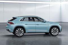 Volkswagen Cross Coupé GTE Concept