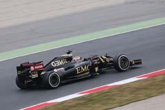 Lotus E23 Hybrid Mercedes E23-02