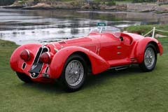 Alfa Romeo 8C 2900B MM Touring Spider 412030