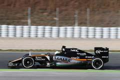 Force India VJM09 Mercedes VJM09-02